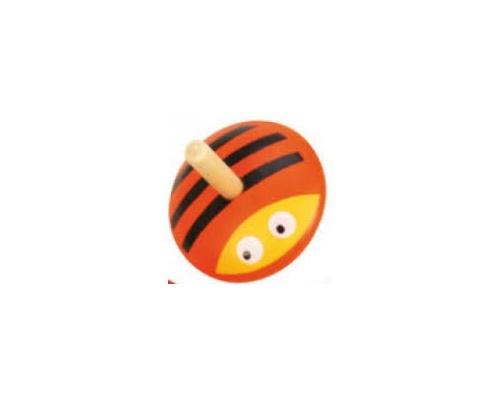 Big Jigs Toys Ξύλινη Σβούρα Μελισσούλα, 1τμχ