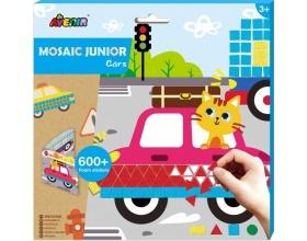 Avenir Mosaic Junior Cars, Δημιουργικό Παιχνίδι με Κολάζ, 1τμχ