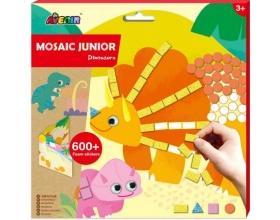 Avenir Mosaic Junior Dinosaurs Δημιουργικό Παιχνίδι με Κολάζ, 1τμχ