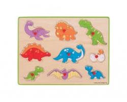Big Jigs Toys Σφηνώματα Δυνόσαυροι, 3+ ετών, 1τμχ