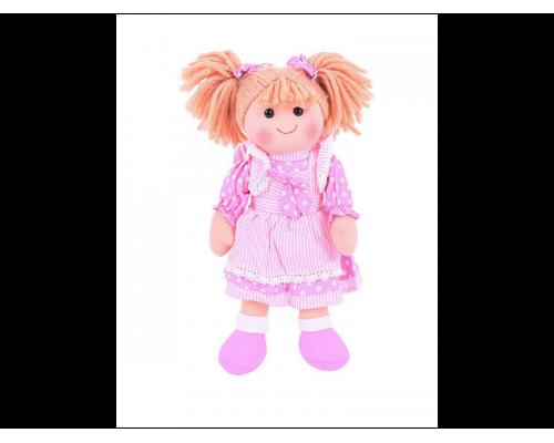 Big Jigs Toys, Anna Πάνινη Κούκλα 35cm 1τμχ