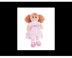 Big Jigs Toys, Alice Πάνινη Κούκλα 38cm 1τμχ