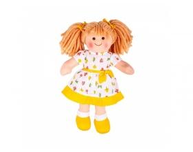 Big Jigs Toys, Zoe Πάνινη Κούκλα 28cm, 1τμχ