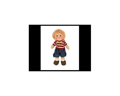 Big Jigs Toys, Harry Πάνινη Κούκλα 28cm, 1τμχ