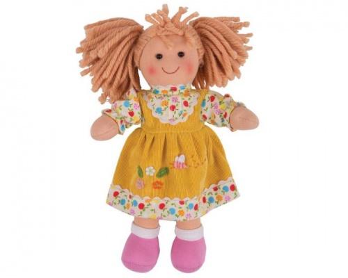 Big Jigs Toys, Daisy Πάνινη Κούκλα 28cm, 1τμχ