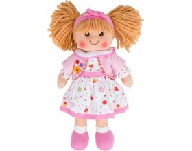 Big Jigs Toys, Kelly Πάνινη Κούκλα 34cm 1τμχ
