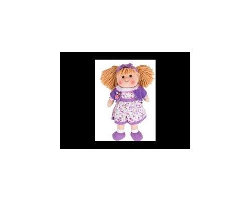 Big Jigs Toys, Laura Πάνινη Κούκλα 34cm 1τμχ
