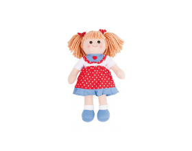 Big Jigs Toys, Emily Πάνινη Κούκλα 34cm 1τμχ