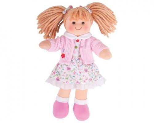 Big Jigs Toys, Poppy Πάνινη Κούκλα 28cm, 1τμχ