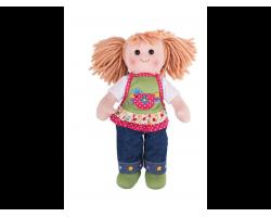 Big Jigs Toys, Sophia Πάνινη Κούκλα 34cm 1τμχ