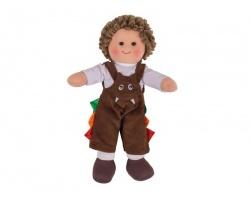 Big Jigs Toys, Jack Πάνινη Κούκλα 28cm, 1τμχ