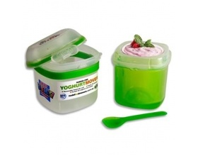 Smash Δοχείο Διατήρησης για Γιαούρτι ή Σνάκ Χρώμα Πράσινο, 1τμχ