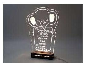 "Gift & Design Led Φωτιστικό ""Baby Elephant"", 1τμχ"