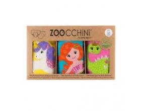 Zoocchini, Εκπαιδευτικά Βρακάκια απο Οργανικό Βαμβάκι Fairy Tails, 3τμχ