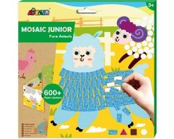 Avenir Mosaic Junior Farm Δημιουργικό Παιχνίδι με Κολάζ, 1τμχ