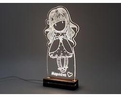 """Gift & Design Led Φωτιστικό """"GORGEUS GIRL"""", 1τμχ"""