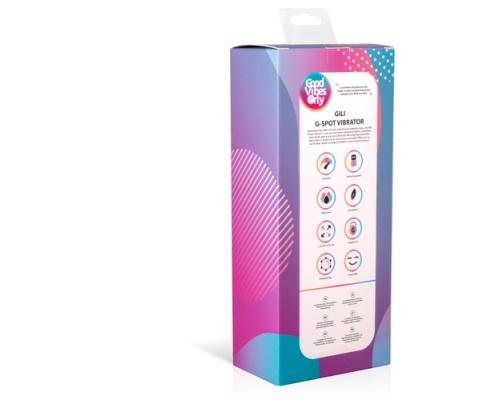 Good Vibes Only GILI G-Spot Vibrator, Δονητής G-Spot Σε Χρώμα Μώβ, 1 τμχ