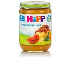 HiPP Mακαρόνια με κιμά και φρέσκια ντομάτα μετά τον 4ο μήνα, 190gr