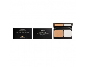 KORRES Corrective Compact Foundation ACCF2 με Ενεργό Άνθρακα - Διορθωτικο Για Σοβαρες Ατελειες με SPF 20 , 9.5g