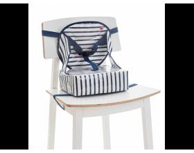 Baby to Love Kάθισμα Φαγητόυ, 6-36m, 15kg Max, Χρώμα Μπλέ-Λευκό, 1τμχ.