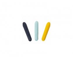 Jaq Jaq Bird Μαγνητική Θήκη Κιμωλίας, 3 Χρώματα, 3τεμ