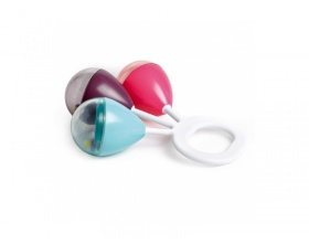 SUAVINEX Κουδουνίστρα, Χρώμα Ροζ-Γαλάζιο-Μωβ, 1 τεμ.
