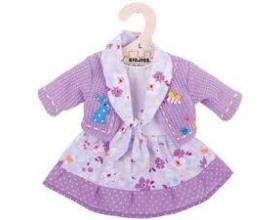 Big Jigs Toys Λιλά Φόρεμα με Λουλούδια για Κούκλες, Small,1τμχ