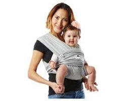 Baby K' Tan Baby Carrier Μάρσιπος από Βαμβάκι, Μέγεθος Small, Χρώμα Γκρι, 1τμχ
