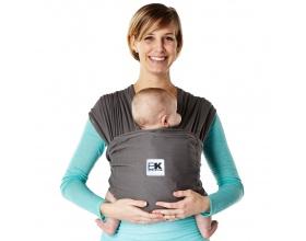 Baby K' Tan Baby Carrier Μάρσιπος από Βαμβάκι, Μέγεθος Medium, Χρώμα Ανθρακι, 1τμχ