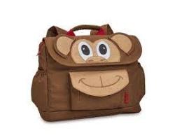 Bixbee, Monkey Backpack Τσαντούλα Πλάτης Αδιάβροχη Μαιμουδάκι, 1τμχ