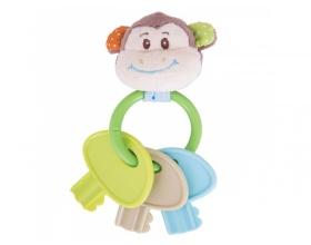 Big Jigs Toys Κλειδιά Οδοντοφυίας μασητικό Πιθηκάκι , 1τμχ