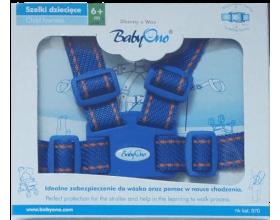 Babyono, Ιμάντας Ασφαλείας για τα Πρώτα Βηματάκια του Μωρού σας Χρώμα Μπλε, 1τμχ