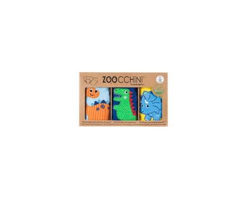 Zoocchini, Εκπαιδευτικά Βρακάκια απο Οργανικό Βαμβάκι Jurassic Pals, 3τμχ