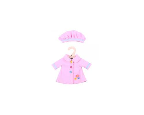 Big Jigs Toys Παλτουδάκι με Καπελάκι για Κούκλες, Medium,1τμχ