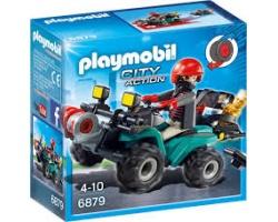 Playmobil Ληστής με Γουρούνα & Κλοπιμαία 1τμχ