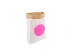 Kolor Paper Bag Dot, Σακούλα Αποθήκευσης απο Ανακυκλωμένο Χαρτί, 1 τεμ