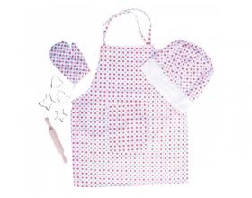 Big Jigs Toys Chef's Set Χρώμα Πουά 3+ ετών, 1τμχ