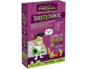 Frezylac Τραχαχανάκης, Βιολογικός Τραχανάς για Παιδιά με Φρούτα απο 6+m, 2*165γρ