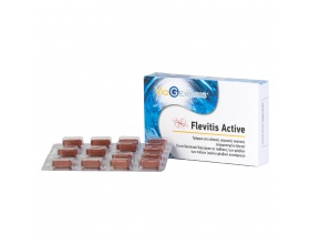 VIOGENESIS Flevitis Active Συμπλήρωμα διατροφής για τη διαιτητική διαχείριση σε παθήσεις των φλεβών των ποδιών , χρόνια φλεβική ανεπάρκεια 30 δισκία