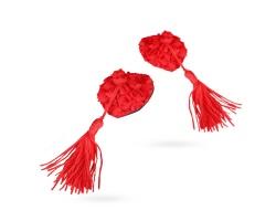 Rose Garden Pasties, Καλύμματα Θηλών Σε Σχήμα Καρδούλες και χρώμα Κόκκινο, 1 τμχ