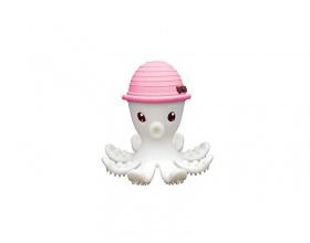 Baby to Love Μασητικό Χταπόδι απο Υψηλής Ποιότητας Σιλικόνη, Χρώμα Ρόζ, 1τμχ