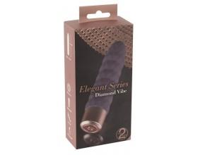 Υou2Toys Elegant Diamond Vibe Vibrator, Δονητής με 10 διαφορετικούς τρόπους δόνησης, 1 τμχ