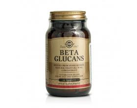 SOLGAR Beta Glucans Συμπλήρωμα διατροφής Ενισχύει τη λειτουργία του ανοσοποιητικού συστήματος 60 ταμπλέτες
