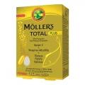 Moller's Total Plus Συμπλήρωμα Διατροφής με Ωμέγα 3, Βιταμίνες, Μέταλλα & Βότανα για Ολοκληρωμένη Τόνωση του Οργανισμού, 28+28caps