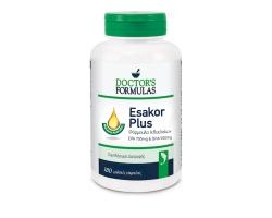 Doctor's Formulas Esakor Plus Φόρμουλα Ιχθυελαίων EPA 700mg  & DHA 500mg 180 Softgels