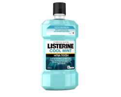 Listerine Solution Zero, Στοματικό Διάλυμα Κατά των Μικροβίων με Λιγότερο Έντονη Γεύση, Χωρίς Οινόπνευμα 500 ml