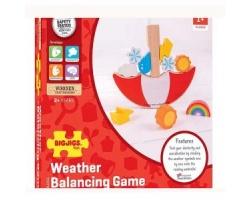 Big Jigs Toys, Παιχνίδι Ισορροπίας-Καιρός, 2+ Χρονών, BJ256, 1τμχ