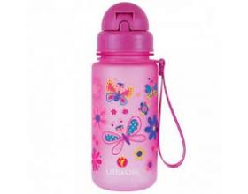 Littlelife Παγούρι Με Καλαμάκι Χρώμα Ροζ, 400ml