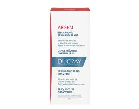 DUCRAY Argeal Σαμπουάν αγωγής για λιπαρά μαλλιά για συχνή χρήση , εξισορροπει την παραγωγή σμήγματος 200ml