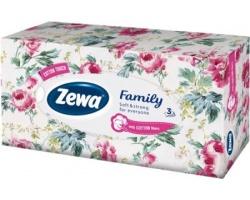 Zewa Family, Χαρτομάντηλα, 3φυλλο,  90τεμ